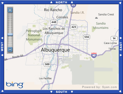 New Mexico Map-Based Property Search - Click Here